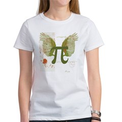 Winged Pi Women's T-Shirt