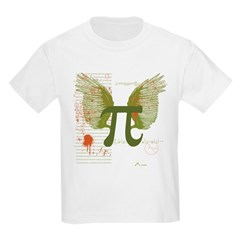 Winged Pi Kids T-Shirt