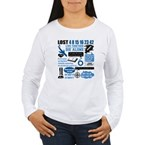lost-quotes-forlights Women's Long Sleeve T-Shirt