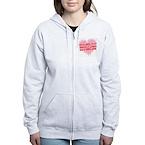lovesquare Women's Zip Hoodie