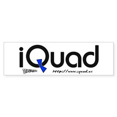 iQuad Team<br> Bumper Sticker