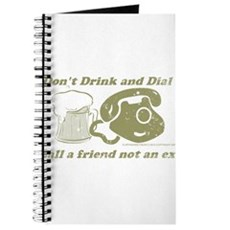 Don't Drink and Dial Journal