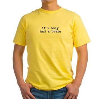 Just Like Scarecrow Yellow T-Shirt | Wonderful Wizard of Oz Clothing | Wizard of Oz T-Shirts