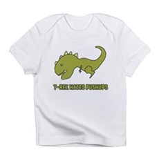 T-Rex Hates Pushups Infant T-Shirt