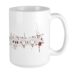zombie Large Mug
