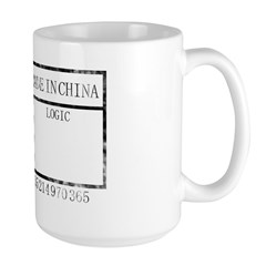 qcpassedtshirt_render copy Large Mug