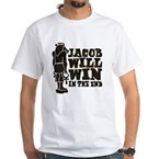 jacobstatue White T-Shirt