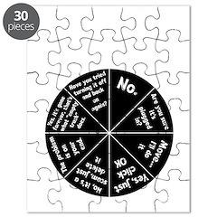 IT Response Wheel Puzzle