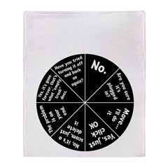 IT Response Wheel Throw Blanket