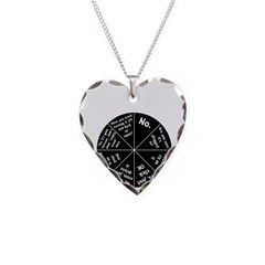 IT Response Wheel Necklace Heart Charm