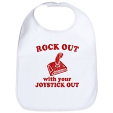 Rock Out With Your Joystick O Bib