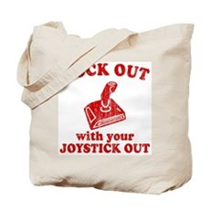 Rock Out With Your Joystick O Tote Bag