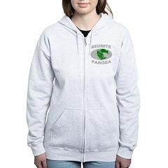 reunitepangeadark Women's Zip Hoodie