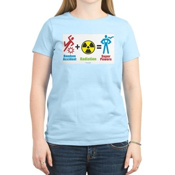 Super Powers Women's Light T-Shirt | Gifts For A Geek | Geek T-Shirts