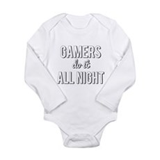 Gamers Do It All Night Body Suit