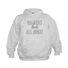 Gamers Do It All Night Hoodie