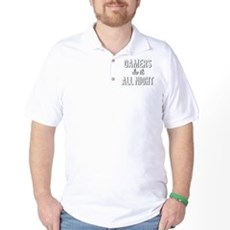 Gamers Do It All Night Golf Shirt