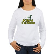 St. Patrick is my Homeboy Womens Long Sleeve T-Sh