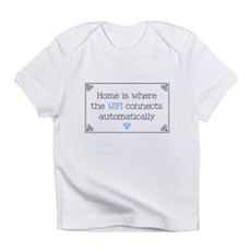 Home is Where the WIFI Connects Infant T-Shirt