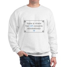 Home is Where the WIFI Connects Sweatshirt