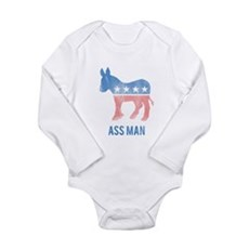 Ass Man Democrat Body Suit