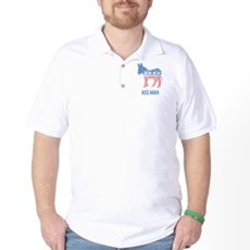 Ass Man Democrat Golf Shirt