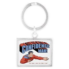 confidence-man2-LTT Landscape Keychain