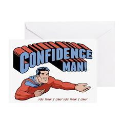 confidence-man2-LTT Greeting Card