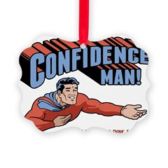 confidence-man2-LTT Picture Ornament