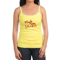 High on Stress Jr Spaghetti Tank