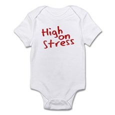 High on Stress Infant Bodysuit
