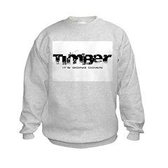 Timber - It's Going Down Kids Sweatshirt