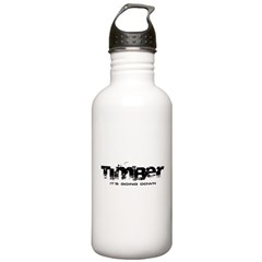 Timber - It's Going Down Stainless Water Bottle 1.0L