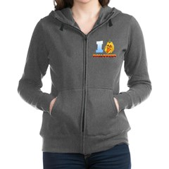 I Love Halloween Women's Zip Hoodie