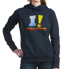 I ! Halloween Woman's Hooded Sweatshirt