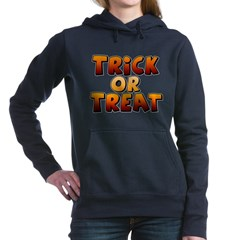 Trick or Treat Woman's Hooded Sweatshirt