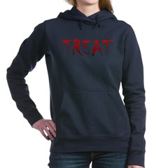 Bloody Treat Woman's Hooded Sweatshirt