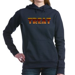 Glowing Treat Woman's Hooded Sweatshirt
