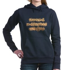 Official Halloween Costume Woman's Hooded Sweatshirt
