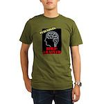 Diagnosis: Bird-Brained Organic Men's T-Shirt (dar
