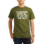 Old Digiscopers Organic Men's T-Shirt (dark)