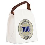 Lifelist Club - 700 Canvas Lunch Bag