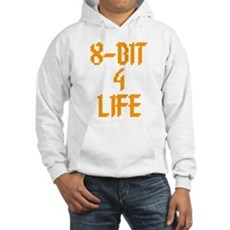 8-Bit 4 Life Hooded Sweatshirt