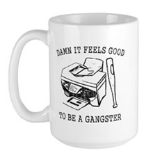 Damn it Feels Good Large Mug