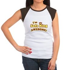 I'm Sofa King Awesome! Womens Cap Sleeve T-Shirt