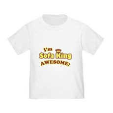I'm Sofa King Awesome! Toddler T-Shirt