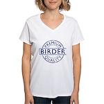 Premium Quality Birder Women's V-Neck T-Shirt