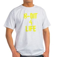 8-Bit 4 Life Light T-Shirt