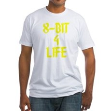 8-Bit 4 Life Fitted T-Shirt