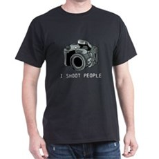 I Shoot People Funny Photographer T-Shirt